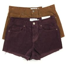 Kendall & Kylie Cut off Corduroy Shorts Women's High Rise Lot of 2 Size 24 NWT