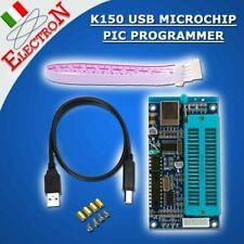 K150 Programmatore PIC USB + Cavo ICSP + USB Microchip PIC programmer KIT Burner