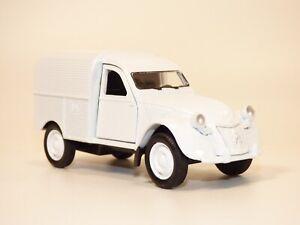 CITROEN 2CV camionnette blanc 1/36