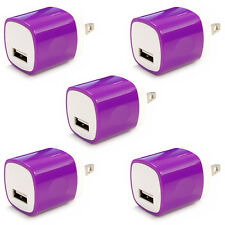 5x USB Wall Charger Power Adapter AC Home US Plug FOR iPhone 6 7 8 X Samsung Lg