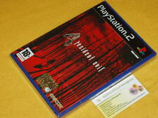 RESIDENT EVIL 4 Playstation 2 PS2 NUOVO SIGILLATO PRIMA STAMPA ITALIANA  RE4 ITA