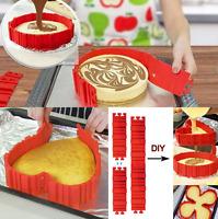 4 Pcs Nonstick Silicone Cake Mold Magic Bake Snakes Diy Cake Mould Baking Tools