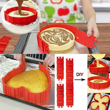 Silicone Cake Mould Bake DIY Cake Shape Nonstick Pastry Tool Tray Magic Baking