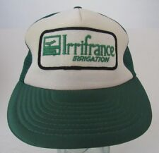 VTG rrifrance Irrigation Rare Mesh Trucker Hat Cap Advertising A13