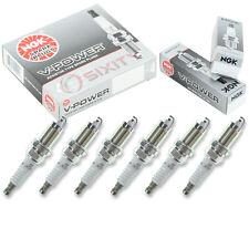 6 pcs NGK V-Power Plug Spark Plugs 91-98 Jeep Cherokee 4.0L L6 Kit Set Tune ab