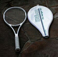 Wilson Pro Avenger Mid 93 Graphite Tennis  00004000 Racquet Grip Size 4 5/8 with cover