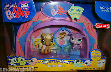Littlest Pet Shop Light Up Dome Talent Show with Poodle #561 & Pony #560 RARE