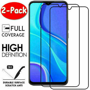 2X Full Cover Tempered Glass Screen Protector For Xiaomi Redmi 9 9A 9C 8 8A 7 7A