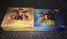 SHENMUE 1 2 Limited Collector & GUIDE Sega DREAMCAST Japan Jp Jap Japanese NMINT