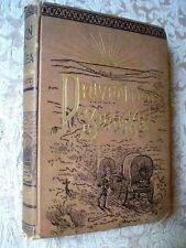 1888 Driven From To Sea Just A Campin- C. Post; Antique English Book USA America