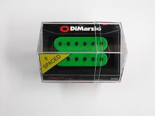 DiMarzio F-spaced Titan Bridge Humbucker Green W/Black Poles DP 259