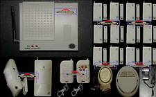 Wireless Security Home Alarm W Monitoring Dialler JX19