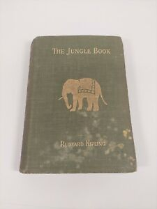 The Jungle Book by Rudyard Kipling (1894) 1st Edition Hardcover Book