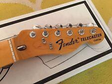 2011 Fender American Vintage 72 Custom Telecaster Neck + Tuners USA AVRI Tele