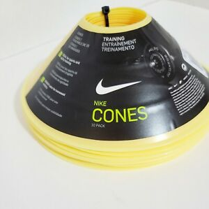 Nike - Training Cones - New - Yellow (10 Pack) - Soccer Football - Team