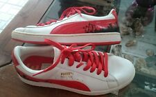 PUMA authentic HOUSTON RETRO Sneakers special Edition white Red collector 345237