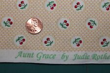 """""""TRIBUTE TO AUNT GRACE"""" QUILT FABRIC CIRCA 1930's BTY FOR MARCUS 6263-0333"""