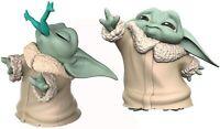 "Disney Star Wars THE MANDOLORIAN ""The Child"" Twin Figure Pack ( Baby Yoda )"