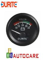 Durite 0-523-72 24V Illuminated Voltmeter - 52mm