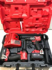 "Milwaukee Tool 2997-22 Combo Kit 1/4"" Impact Driver 1/2"" Hammer Drill W Case"
