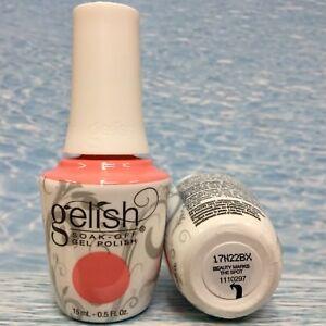 Gelish 1110297 BEAUTY MARKS THE SPOT pink coral gel polish ROYAL TEMPTATIONS