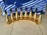 8 BOTTLE ace of spades empty champagne bottle