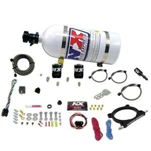 Nitrous Express 20951-10 5.0L Plate Nitrous System Fits 15 Mustang