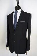 Men's Young's Black Slim Fit Suit 44R W38 L32 VB163