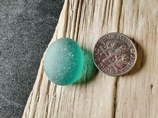 A Gorgeous Teal Blue Gem with a Hint of Green –Rare- Genuine Icelandic Sea Glass