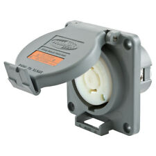 HBL2410SW Receptacle, 20A 125/250V AC, 3-Pole 4-Wire Grounding