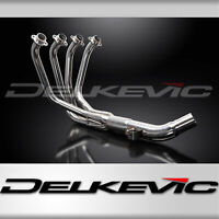 SUZUKI GSF650 BANDIT GSF1250 07-16 STAINLESS 4-1 EXHAUST DOWNPIPES (WATER COOLED