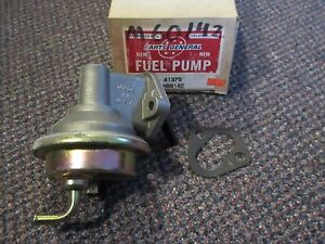 """41375 NEW NOS """"Made in USA"""" Standard Fuel Pump - M60142 - 80-83 Jeep AMC GM 2.5L"""