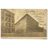 Vintage Galt House Louisville Kentucky Postcard 1912 Postmark