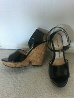 """Chinese Laundry Cork Wedge 5"""" High Sandal-Size 8 great condition"""