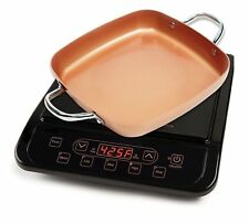 NIB Copper Chef Induction Cooktop with Frying Pan - Brand New Box