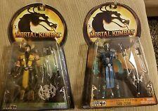 Mortal Kombat Shaolin Monks Subzero And Scorpion Jazwares Action Figures