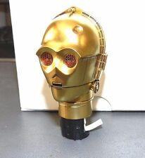SIDESHOW C3PO HEAD HELMET SCULPT 1/6 SCALE BRAND NEW LIGHTS UP GEM