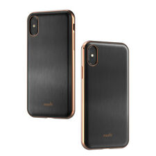 Moshi iGlaze for iPhone X - hardshell protective case - Armour Black