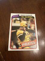 1980 Topps Dave Parker Pittsburgh Pirates #310 Baseball Card
