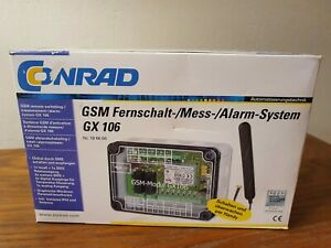 gsm Fernschalt- / Alarm-System GX 106