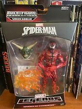 Marvel Legends Infinite Series Spawn Of Symbiotes Carnage (Green Goblin BAF)