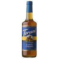Torani Sugar Free Classic Caramel Syrup (750 mL), G-Classic, Caramel-sf