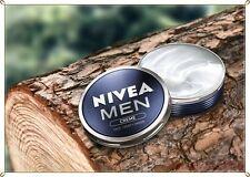 NEW NIVEA MEN CREAM Top PRICE Creme Face Body & Hands moisturiser dry skin,30 ML