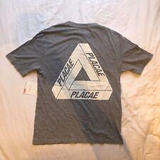 Palace Skateboards Placae Triferg T-shirt - Medium - Marl Grey