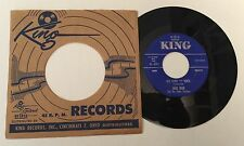 """RARE 7"""" GENE REDD AND THE GLOBE TROTTERS RED RIVER/KENTUCKY HOME ROCK KING REC."""