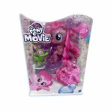 My Little Pony Pinkie Pie Seapony Figure Light-Up Base New The Movie Pet Figure