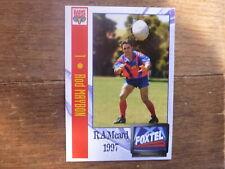 1997 ADELAIDE RAMS SUPER LEAGUE CARD #1 ROD MAYBON