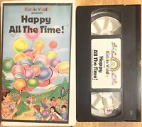 KIDDIE VIDDIE (VHS) Happy All the Time RARE musical videos children SPED autism