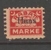 Germany revenue stamp Fiscal - 5-21-20-  small stamp
