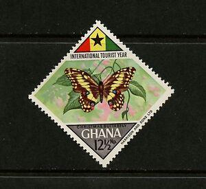 Ghana 1967 #316 Papillons - Simple - 1v. MNH K536